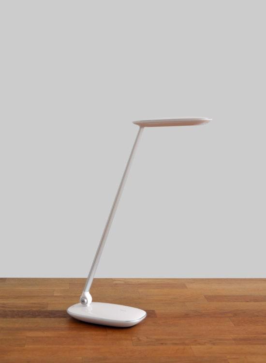 LED Bureaulamp Wit dimbaar & onbreekbaar glas