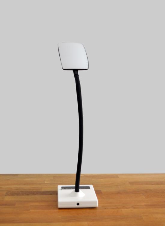 led bureaulamp retro dimbaar & flexibele standaard - achterkant